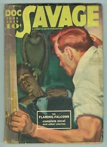 Doc-Savage-July-1939-G-VG-The-Flaming-Falcons