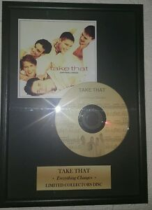 Take That memorabilia limited collectors disc - Italia - Take That memorabilia limited collectors disc - Italia