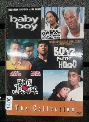 Baby Boy | Boys N the Hood | Poetic Justice | The Collection | New | Ships Fast