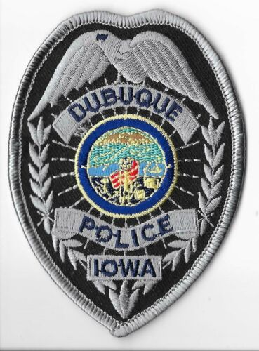Dubuque Police Department, Iowa Breast Patch
