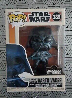 Star Wars Celebration 2020 Darth Vader Concept Series 389 Funko Pop