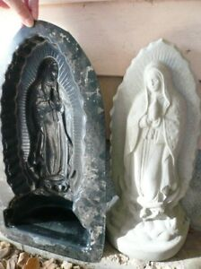 Concrete Cement Mold MARY Statue, Free Standing