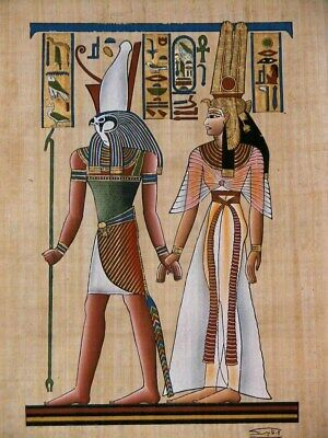 US Seller, Egyptian Papyrus Paintings poster Isis, Inanna and Islam buy wall art