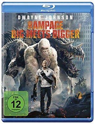 Rampage: Big Meets Bigger Blu-ray NEU OVP Dwayne Johnson