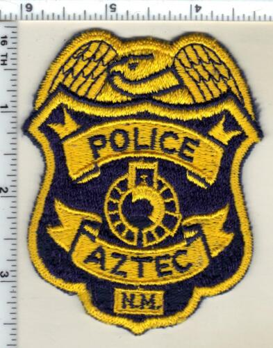 Aztec Police (New Mexico) Shoulder Patch from the 1980