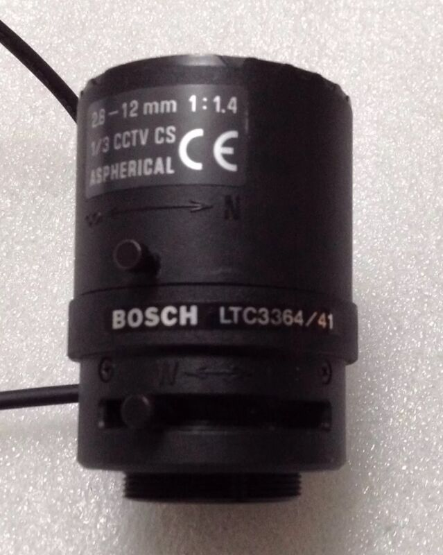 Bosch Lens LTC3364/41 Varifocal 2.8~12mm 1:1.4 CS ASPHERICAL, CCTV Surveillance