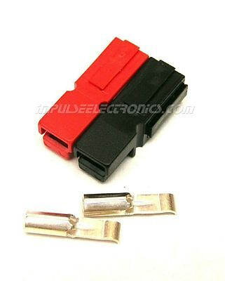 Anderson Powerpole Connector 15 Amp Red Black Bonded Housings 10 Pack