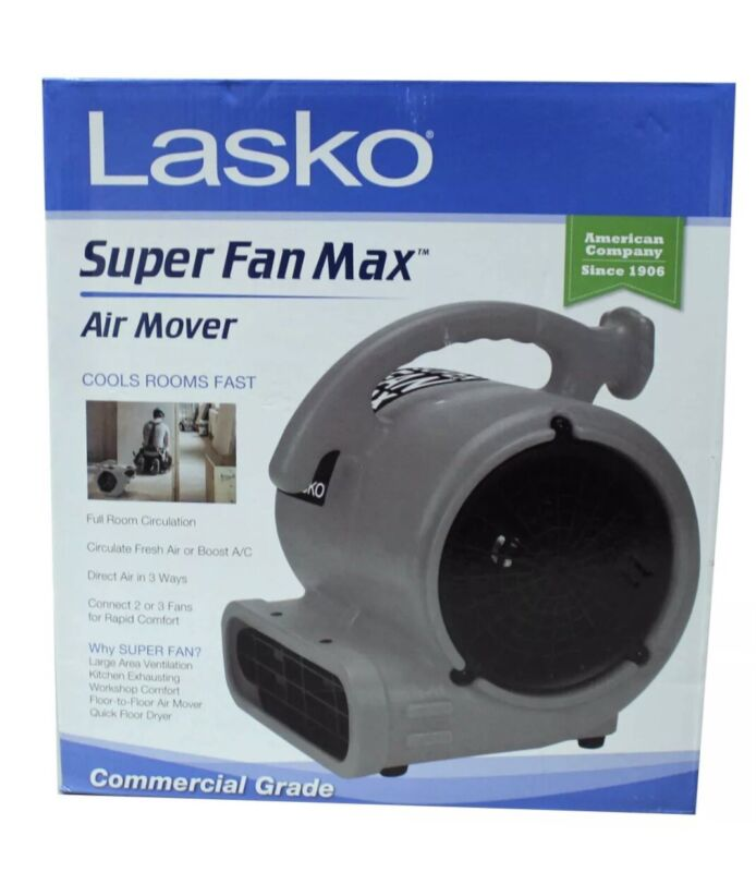 LASKO Super Fan Max   Commercial Grade   High Velocity Air Mover Fan/Dryer