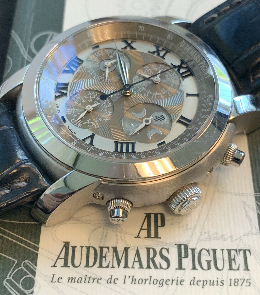 Audemars Piguet Jules Arnold's All-Stars 18K Gold Watch – 26094BC.OO.D095CR.01 - watch picture 1