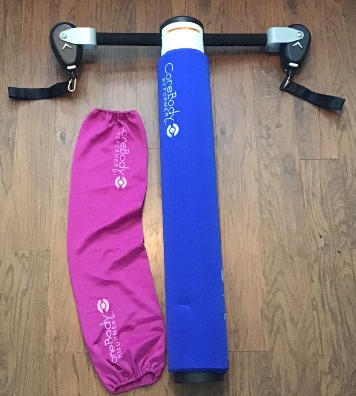 CoreBody Reformer Pilates Yoga Exercise Workout System GUC