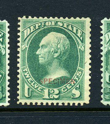 Scott #O63S State Dept. Special Printing Specimen Official Stamp (Stock #O63-20)