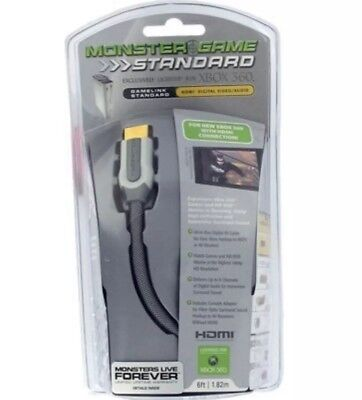 Monster Cable Hdmi Audio Video (Monster Cable 24k Gold Contacts HDMI Digital Video Audio XBOX Cable)