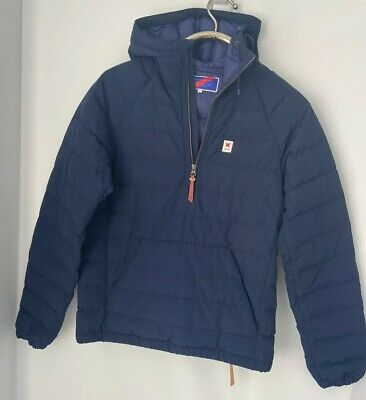 Best Made Co Down Classic Navy  Hooded Pullover Coat PUFFER XS WORN ONCE