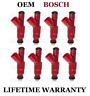 Genuine Bosch Set Of 8 Fuel Injectors for Dodge Dakota Durango Ram 5.9L 5.2L V8