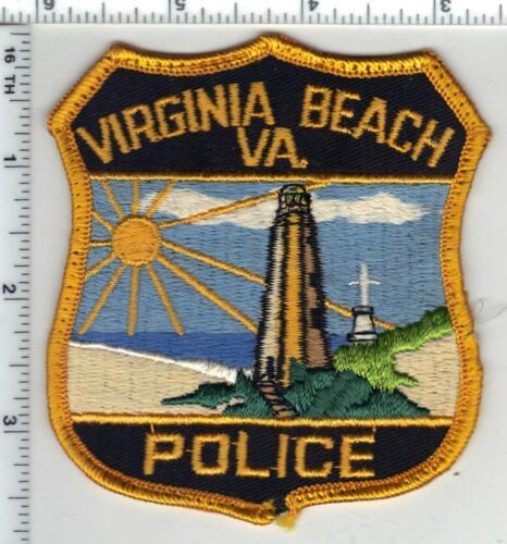 Virginia Beach Police (Virginia) 2nd Issue Uniform Take-Off Shoulder Patch