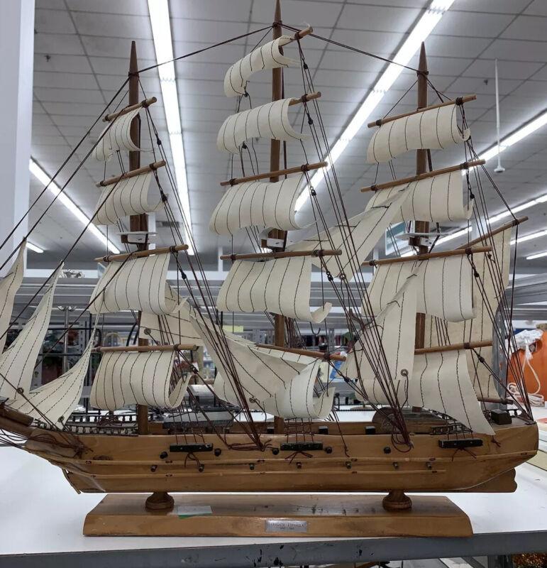 X-LARGE Vintage Model Ship