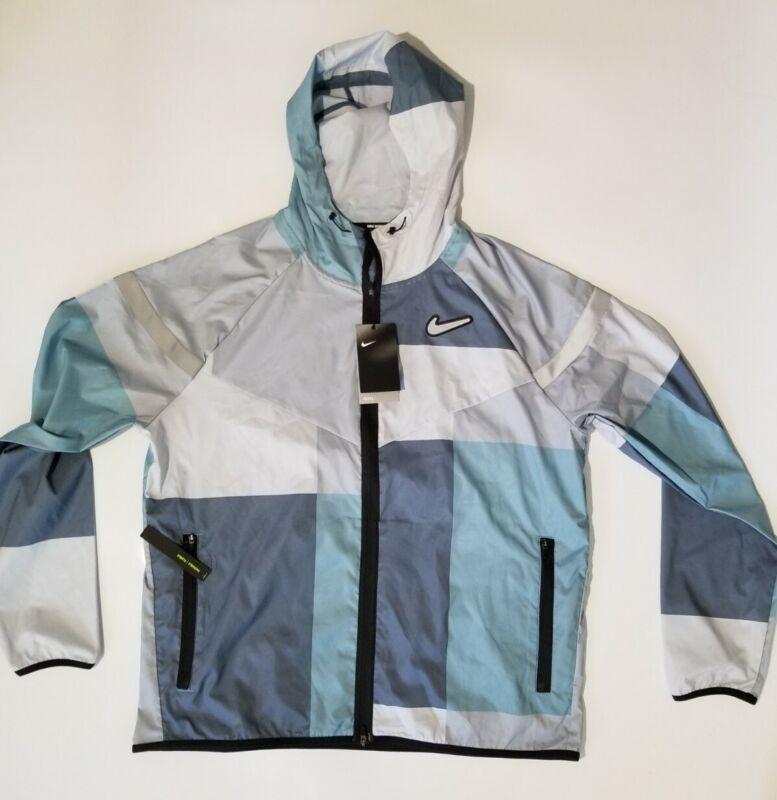 Nike running reflective jacket Ck0683-418 men size Large