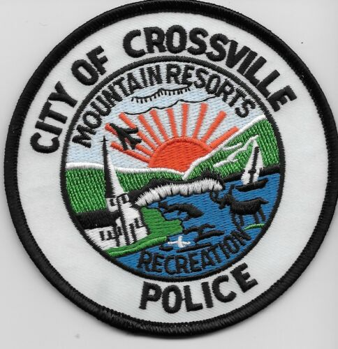 Scenic Crossville Police State Tennessee TN Colorful