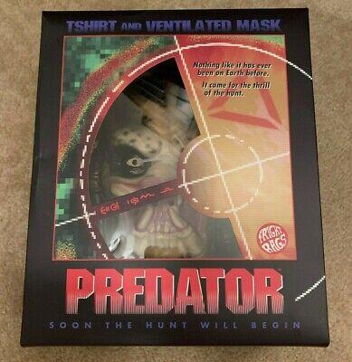 Fright Rags Predator Mask Limited to 650 No T-Shirt - Predator No Mask