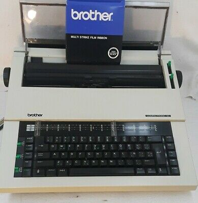 Brothers Electric Typewriter Compactronic 60 Word Processor With Extra Ribbon