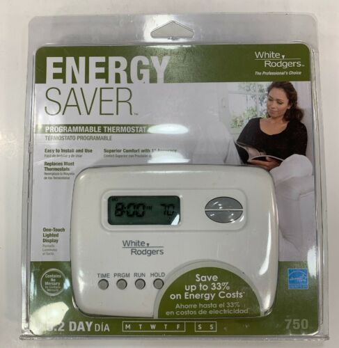 NEW & SEALED: White-Rodgers 750 Programmable Thermostat | We