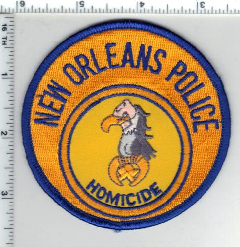 New Orleans Police (Louisiana)  Homicide Shoulder Patch