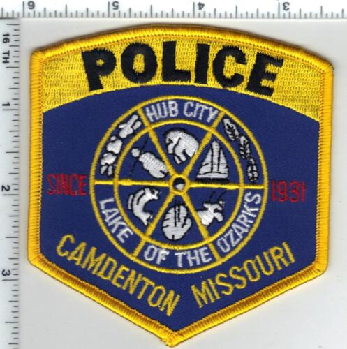 Camdenton Police (Missouri)  Shoulder Patch  from the 1980