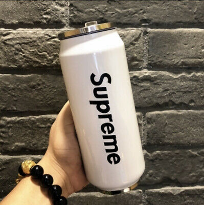 SUPREME thermal vacuum flask cup in White 500ml