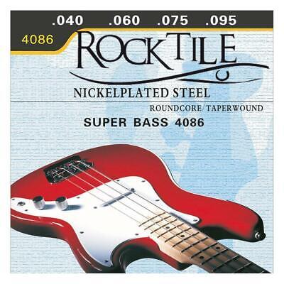Cuerdas Bajo Electrico Acero Fuertes Nickelplated 040 - 095 4 piezas Longscale