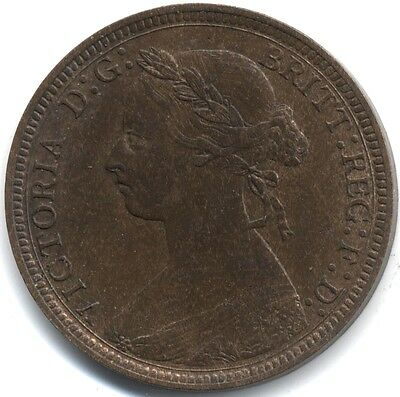 1887 Victoria Halfpenny   Pennies2Pounds