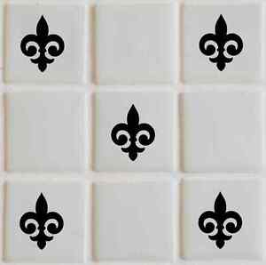 28-x-Fleur-Tile-transfers-stickers-graphics-decals-bathroom-TI6