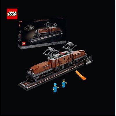 LEGO Crocodile Locomotive 10277 Building Kit Adult Model Train Set 1,271 Pieces