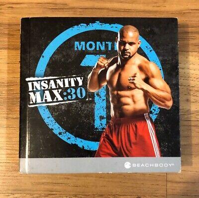 BEACHBODY INSANITY MAX:30 DVD Full Set
