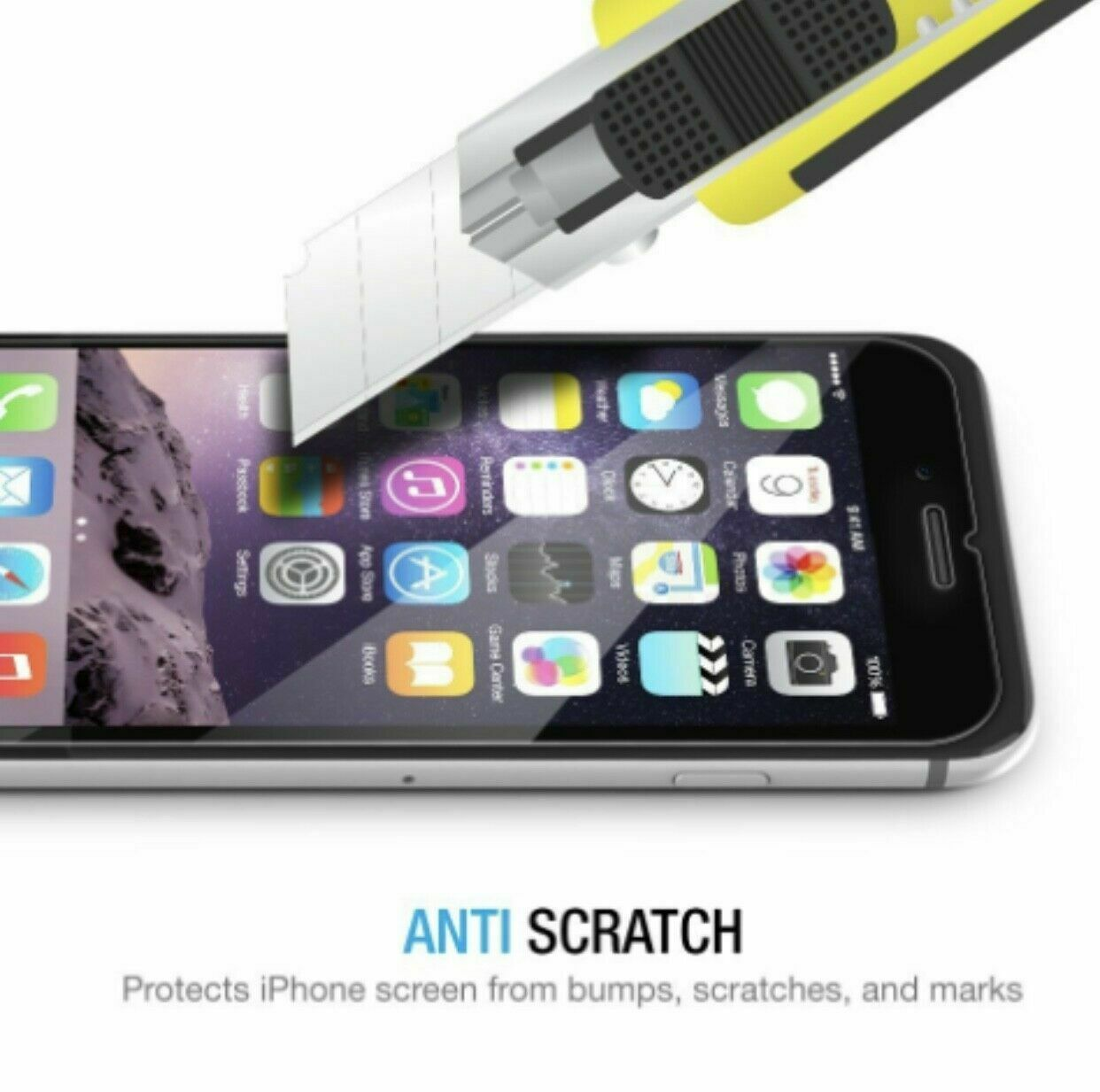 Real Tempered Glass Screen Protector Premium For iPhone 11 XSmax/XR/XS/X/8/7/6 Cell Phone Accessories