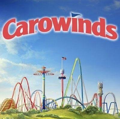 Carowinds Cedar Fair Ticket  40   Promo Savings Discount Tool   Fast Del