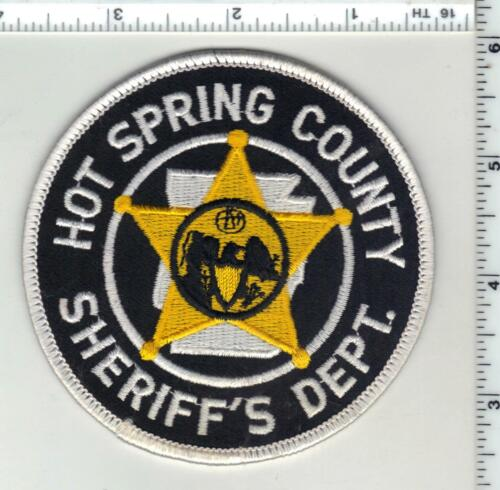 Hot Spring County Sheriff (Arkansas) 1st Issue Shoulder Patch