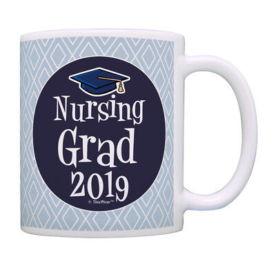 Gifts For Nursing Graduates (Graduation Gifts for Nurses Nursing Grad 2019 Nurse Gifts Coffee Mug Tea)