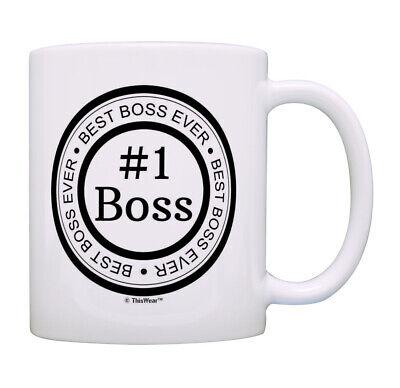 Best Boss Gifts for Men and Women Best Boss Ever Mug #1 Boss