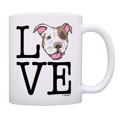 - Pitbull Gifts Love Pitbull Terrier Dog Mug Dog Mom Gifts Coffee Mug Tea Cup