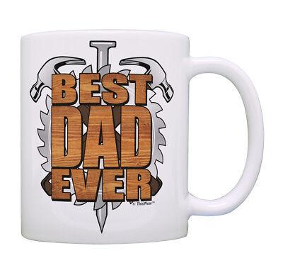 Best Dad Mug Best Dad Ever Woodworking Gifts for Dad Coffee Mug Tea