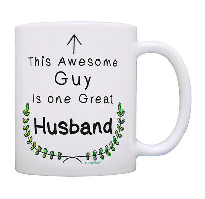One Great Cup - Anniversary Gifts for Men This Awesome Guy Is One Great Coffee Mug Tea Cup