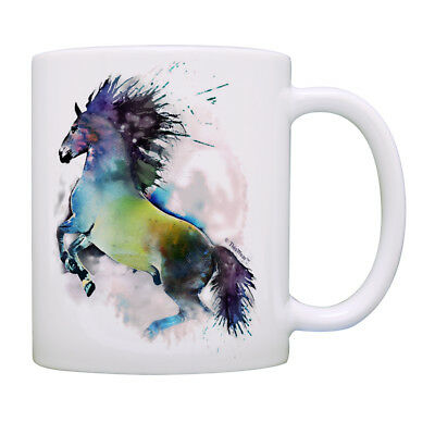 Horse Lovers Gifts Watercolor Horse Mug Horse Theme Gifts Co