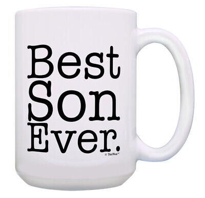 Best Son Mug Best Son Ever Dad Son Gifts Mother Son Gifts 15oz Coffee