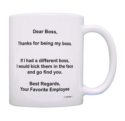 Best Boss Gifts for Men & Women Thanks If I Had A Different