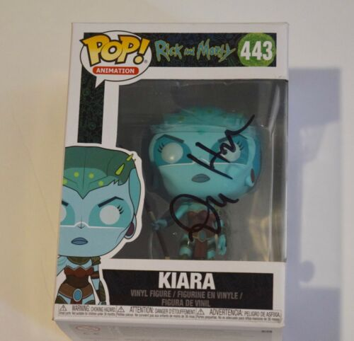 Dan Harmon Signed Rick and Morty KIARA 443 Funko Pop Figure Beckett COA