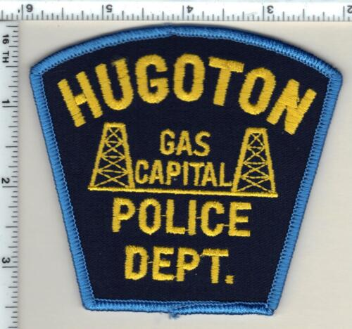 Hugoton Police (Kansas) Shoulder Patch - new from 1990
