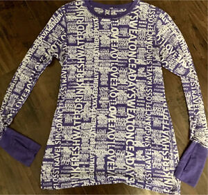 Lululemon Purple Manifesto Long Sleeve Shirt!