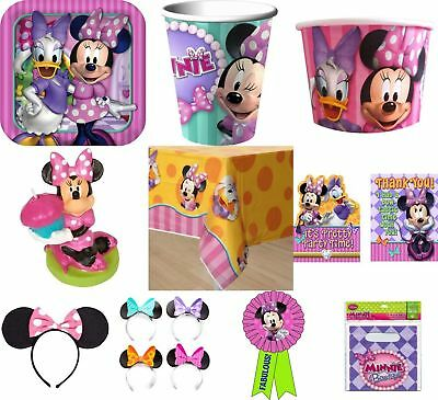 Minnie Mouse Party Items (RARE MINNIE MOUSE PARTY SUPPLIES-YOU CHOOSE ITEMS-COMBINED)