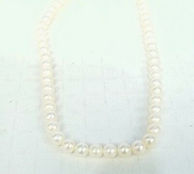 """* UNSTRUNG 16"""" STRAND OF 5 - 5 1/2MM FRESHWATER PEARLS W/ NO LOCKS"""