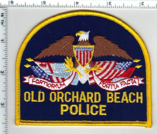 Old Orchard Beach Police (Maine) Shoulder Patch - new from the 1990
